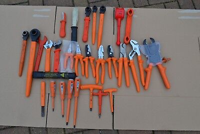 Joblot Boddingtons ,ITL & other Electrical Cable Tools, Insulated Tools