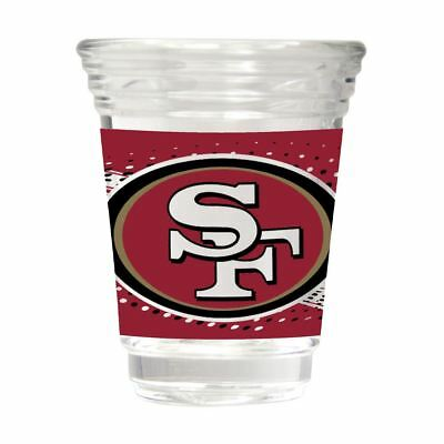 San Francisco 49ers Party Shot Glass Team Graphics 2oz.