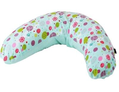 Maternity Pregnancy Breast Feeding Pillow + Pillow Case (Aquarius)