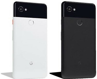 Google Pixel 2 XL 64GB 128GB Black White Unlocked Verizon AT&T T-Mobile G011C