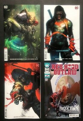 Red Hood and The Outlaws #25,27,28 (DC 2018) NEAR FLAWLESS * PUTRI variant lot