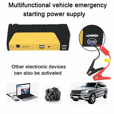 K16 12000MAH Car Jump Starter Booster Vehicle Emergency Battery ChargerPG