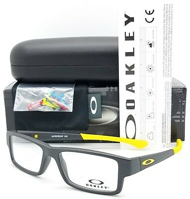 a8fa5703ae NEW Oakley Airdrop XS RX Prescription frame Steel Yellow OX8003-0648 48mm  Youth