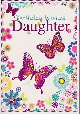 Daughter Birthday Card Wishes