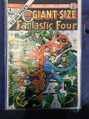 Marvel Giant Size Fantastic Four #4 Very Fine