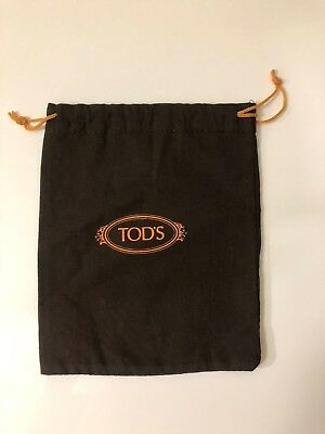 """Tod's Dust Bag w/ Drawstring for Small Purse pouch 6.25"""" x 7.75"""""""