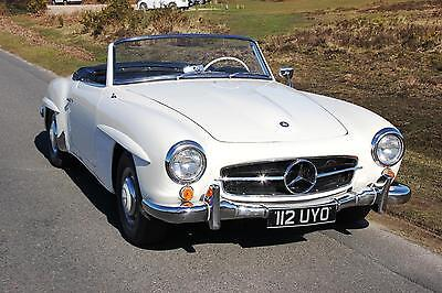 Mercedes Benz 190SL 1961 Stunning Car  Hard And Soft Tops Pagoda