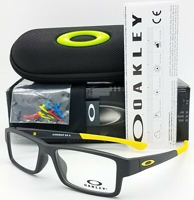 NEW Oakley Airdrop XS RX Eyeglasses Kids frame Yellow OX8006-0552 52mm Youth eye