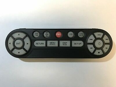 2005 2006 2007 2008 2009 2010 Honda Odyssey DVD Entertainment Remote Control