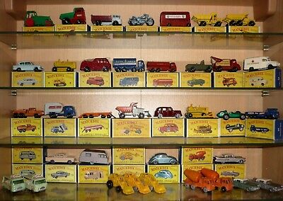 Matchbox collection - huge number of vehicles