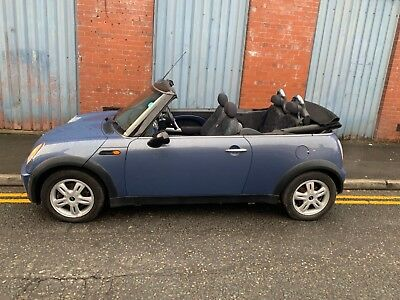 Mini One Convertible 2004 R52 1.6 Cool Blue, Only 67k Miles