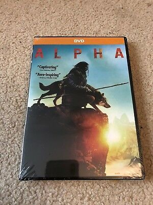Alpha (DVD, 2018) Movie Brand New Free Shipping First Class USA!
