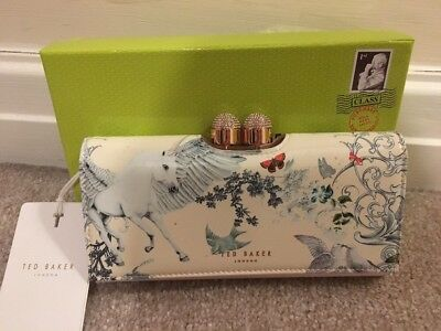 fef9f5e858c Ted Baker Enchanted Dream Unicorn Maycie Matinee Purse BNWT Rare Sold Out  Boxed
