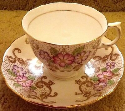 Vintage Colclough China Teacup and Saucer