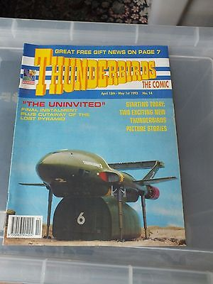 THUNDERBIRDS The Comic - Issue No 14 1992 - MINT CONDITION GERRY ANDERSON