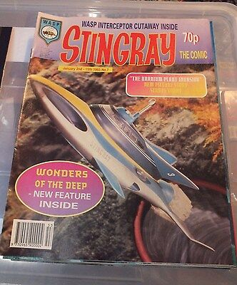 Stingray The Comic No 7 January 2nd - 15th 1993 GERRY ANDERSON - EXC.