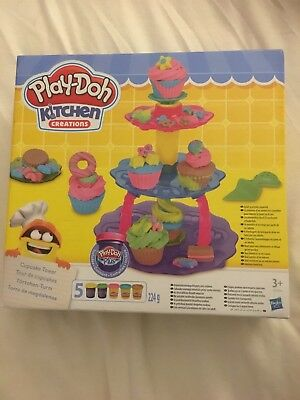 Play-Doh Kitchen Creations Cupcake Tower Age 3+ NEW
