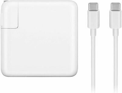 61W USB C AC Adapter Charger for Macbook Pro 13