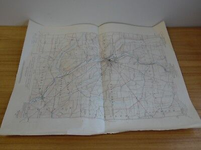 1923 state of pennsylvania topographic and geologic survey Meadville Pa