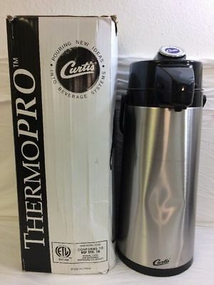 Curtis ThermoPro AirPot 2.2L S.S Body S.S Liner Pump TLXA22 (Minor Dent) ETOP C