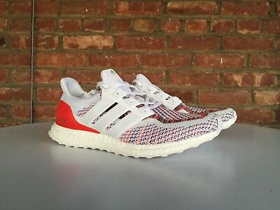 352aff4f2e44e Adidas UltraBoost Multicolor 2.0 White Red OG Release Boost UB Size 11.5  BB3911