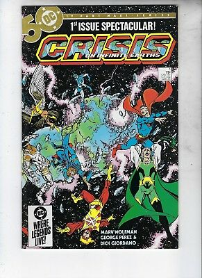 Crisis On Infinite Earths 1 & 7, BOTH  MINT, !-Beginning, 7-Death Of Supergirl