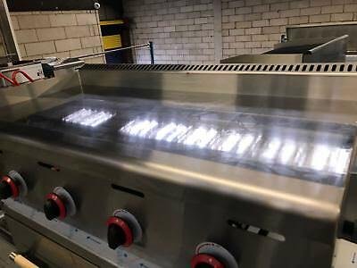 Chrome Platted Mirror Griddle , Natural Gas or LPG