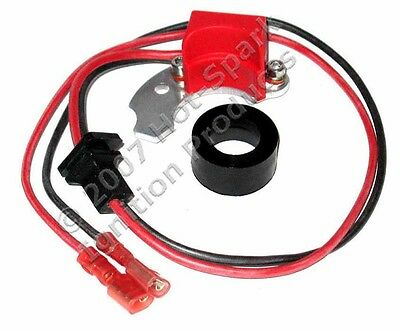 Electronic Ignition replaces 1-piece, Right-Pivot points 4-cyl BMW 2002: 3BOS4U1