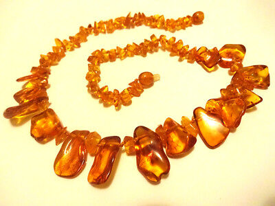 Genuine Baltic Amber Necklace 18 inch