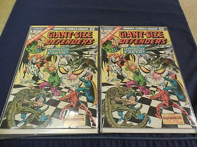 Marvel Giant-Size Defenders with Daredevil Comic #3 (2 copies) Near Mint
