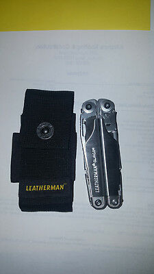 NEW Leatherman Surge silver Multi-Tool with Nylon Sheath
