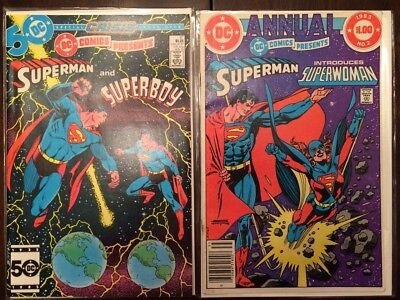 DC Comics Presents #87 Superman 1st Appearance Superboy Prime NM with Annual 2
