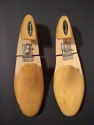 Vintage Wooden Church's English Shoes, Shoe Trees, Stretches, Shapers, 9d & 9e