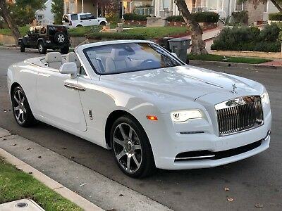 2018 Rolls-Royce Dawn  2018 Rolls Royce Dawn Convertible White with White interior