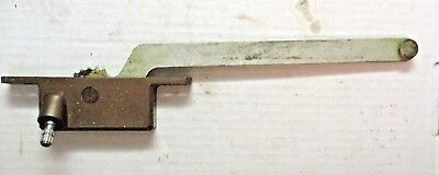 Vintage Henne Casement Window Operator # 50 Right Hand 9-1/8 Arm Bronze No Crank