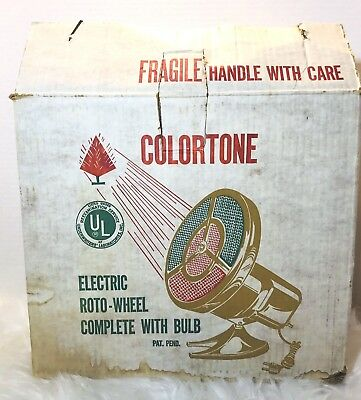 Vintage Harmony House Colortone Electric Roto-Wheel Color Wheel WORKS Parts ONLY