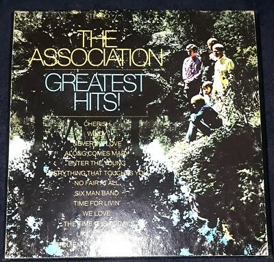 "The Association ""GREATEST HITS"" Vintage 7"" Reel to Reel Factory Tape"