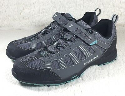 3fc37f7ff0e8ad Bontrager SSR Inform Cycling Shoes Mens Mountain Bike MTB Gray Clip In Size  6.5