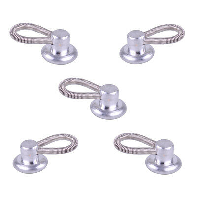 Metal Shirt COLLAR BUTTON EXTENDERS Silver GREAT FOR TIGHT SHIRTS 12PCS LK3