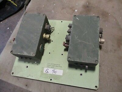 2 Used Antenna Switch Boxes????? for Military Radio HMMWV M998