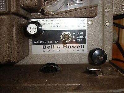 Vintage AutoLoad Bell & Howell 245BA