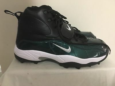 reputable site ef8d8 3bc89 Nike Air Zoom Pro Shark Lineman Football Cleats Size 14 GreenBlack  534768-024