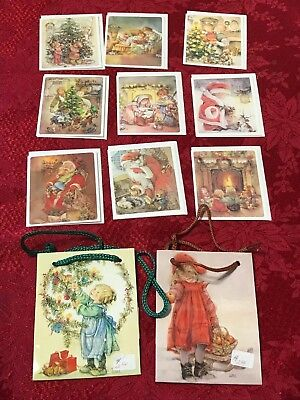 Lisi Martin Gift Card Enclosures Lot Unused Gift Bags Nos Pictura Graphics 1980S