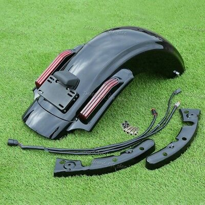 LED CVO Style Rear Fender System For Harley Touring Electra Glide 2014-2018 FB