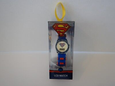 Youth Boys Girls Kids Superman The Justice League DC Comics LCD Watch