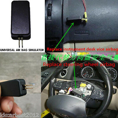 Universal Auto Airbag Air Bag Simulators Emulator SRS Fault Finding Diagnostic