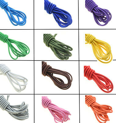1 yards Diameter 3mm Strong Elastic Rope Bungee Shock Cord Stretch String