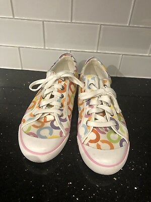 Multi Color Coach Women Shoe Size 9