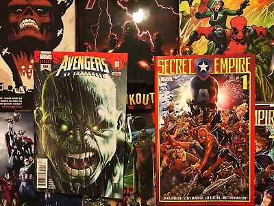 Lot of comic books avengers marvel comics NM first issues 1st print