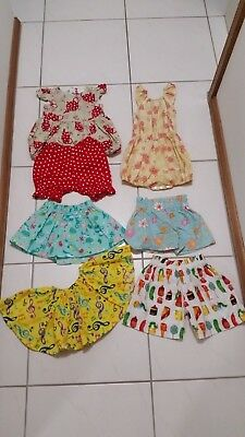 Handmade Baby Girl Bundle - Size 1 - Excellent Condition